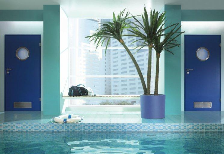 Drzwi aqua o podwyższonej odporności na wilgoć