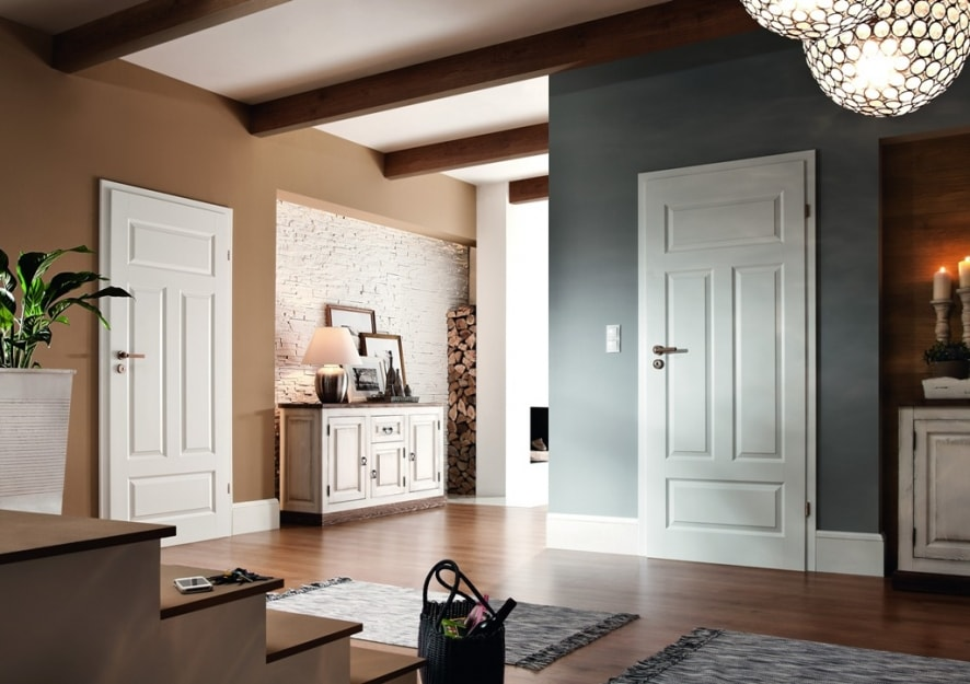 drewniane wnętrze